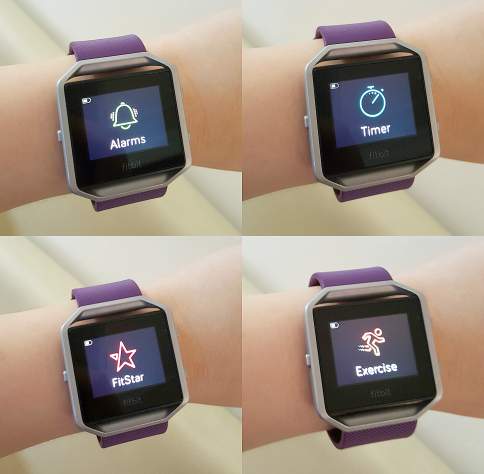 how to change time on fitbit blaze without phone