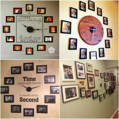 the-perfect-diy-family-photo-wall-clock